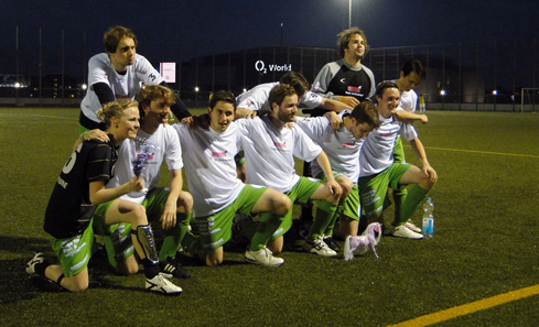 Purple Unicorns, Klasse für Ideen's soccer team, Berlin