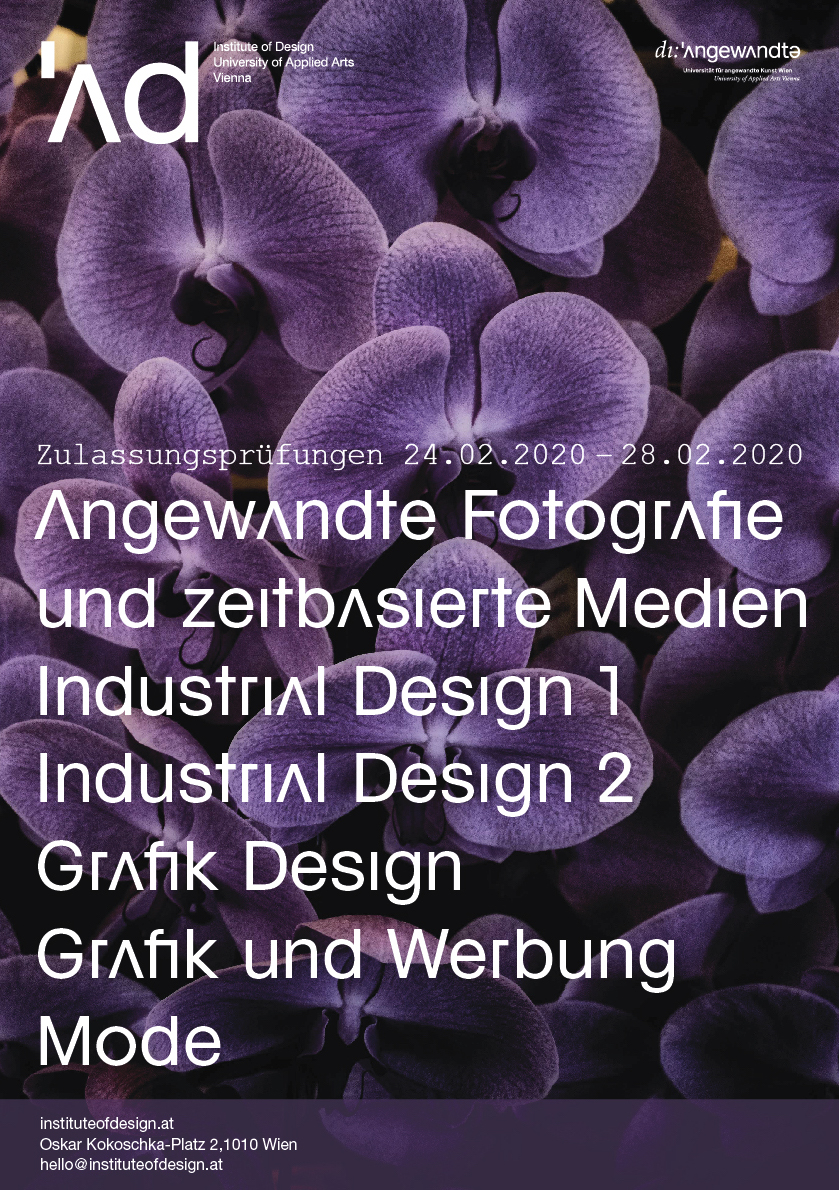 Entrance Exam For The Academic Year 2020 2021 Institute Of Design Vienna